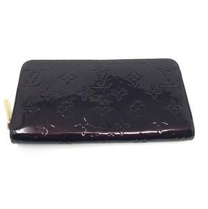 100% Auth Louis Vuitton Vernis Zippy Wallet